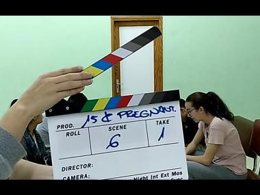 15 and Pregnant - 15_and_Pregnant_-_Foto_rodaje_3_2c0fd1536b6a7c37571c31fe19d56cbd