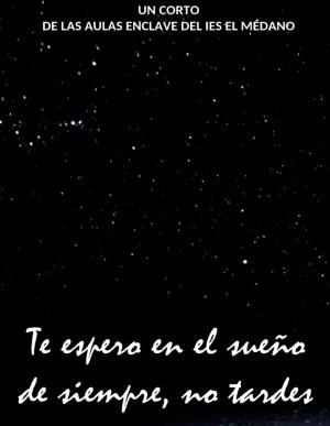 Te espero en el sueño de siempre, no tardes