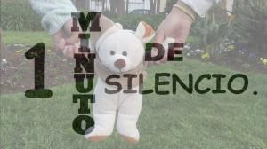 1 minuto de silencio